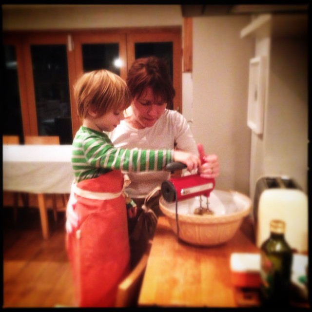 Baking tonight with @hoeandhum