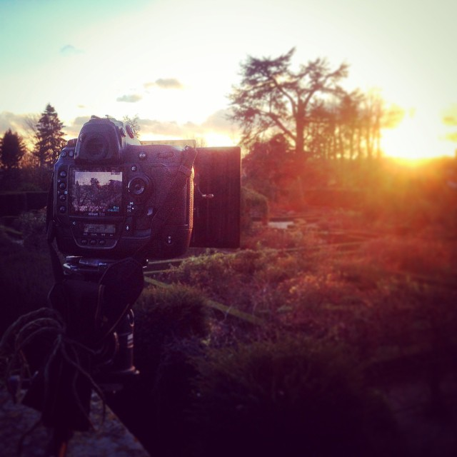 Last few frames of my time lapse at Loseley Park