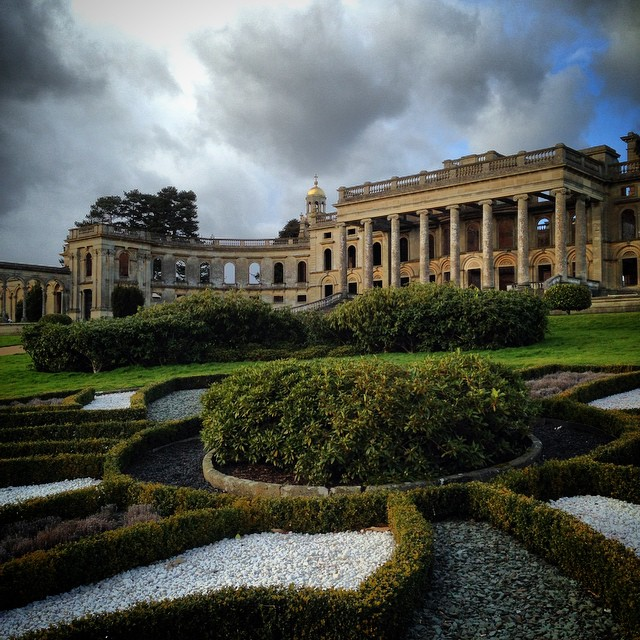 Witley Court South Front #gardenphotography #Englishheritage #witleycourt
