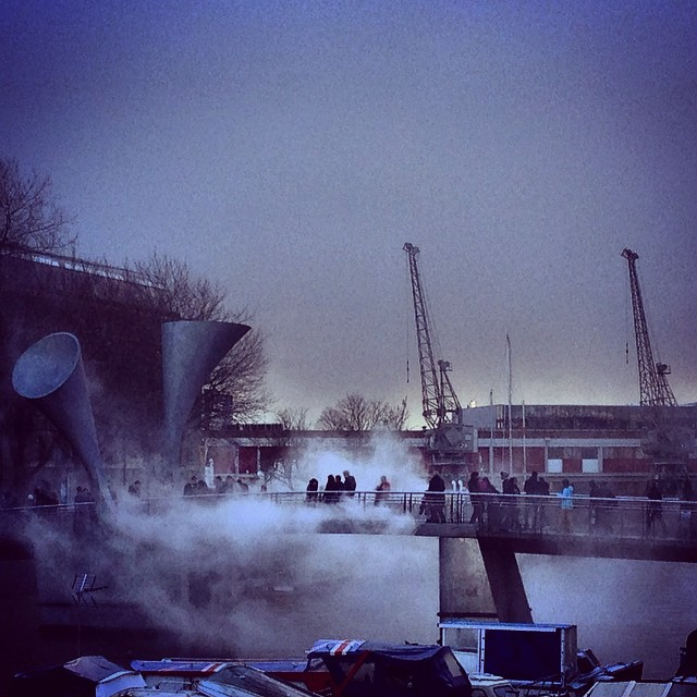 Fog Bridge #fogbridge #bristol