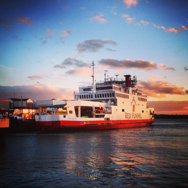 Off to the Isle of Wight for a sunrise shoot at Osborne House #isleofwight #ferry
