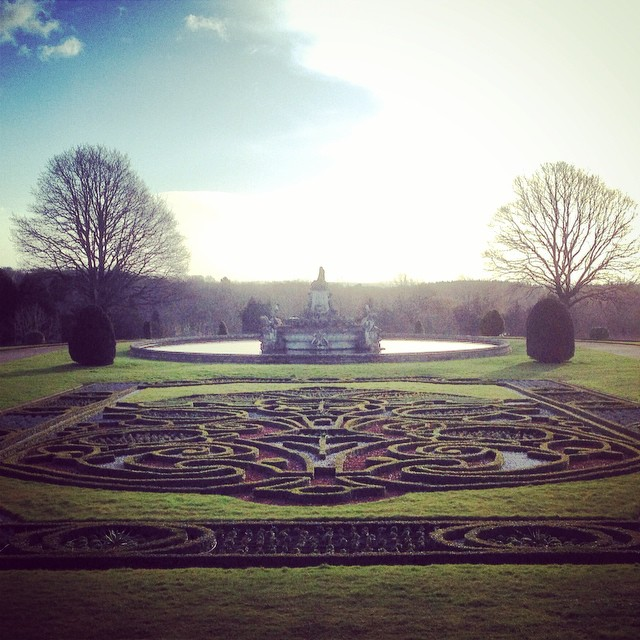 East Parterre at Witley Court #gardenphotography #Englishheritage #witleycourt #parterre