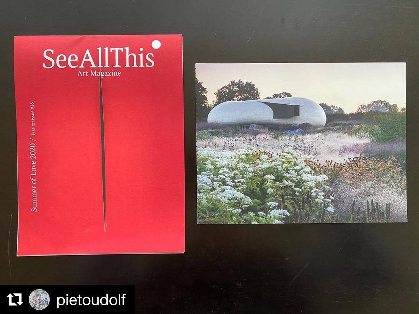 #Repost @pietoudolf with @get_repost・・・The garden at Hauser&Wirth,Somerset Seen in the beautiful publication of @seeallthis A magazine about Art and Artists.Photo:Jason Ingram #hauserwirthsomerset