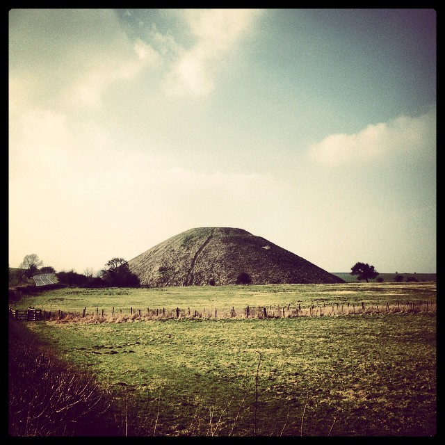 Spent many hours photographing this spot with @markbrookes at Art College #silburyhill
