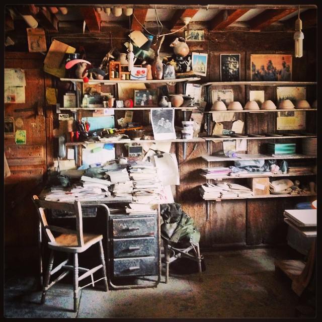 John Leach Pottery #johnleachpottery #studio