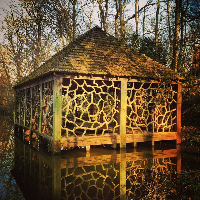 The Boat House at Witley Court #Englishheritage #witleycourt #gardenphotography #Boathouse