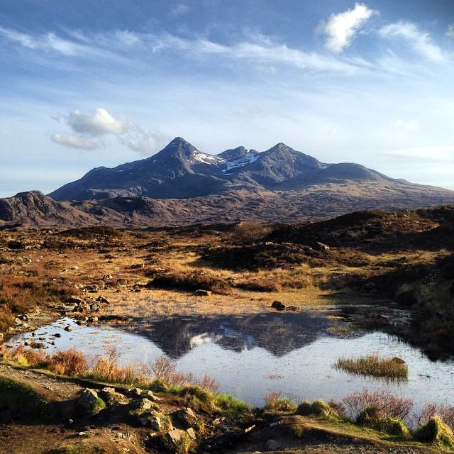 The Cuillins #thecuillins #skye