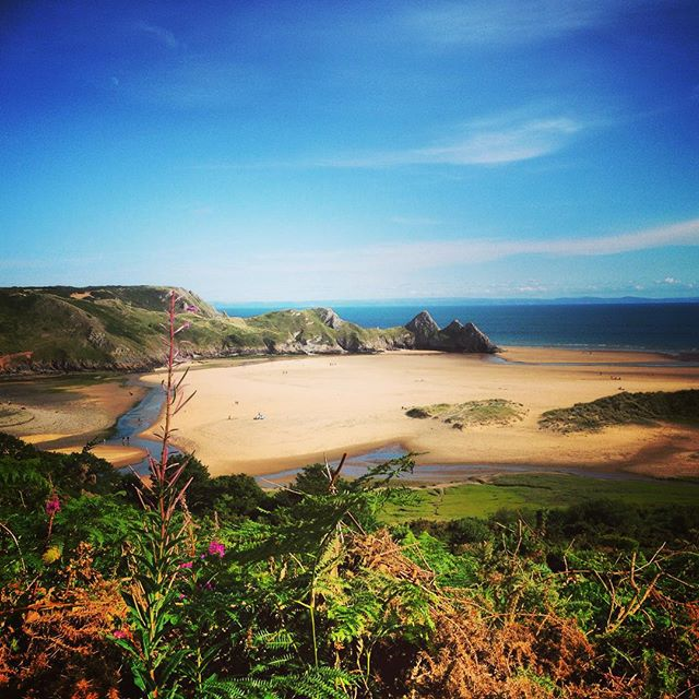 Three Cliffs Bay #threecliffsbay #gower #wales