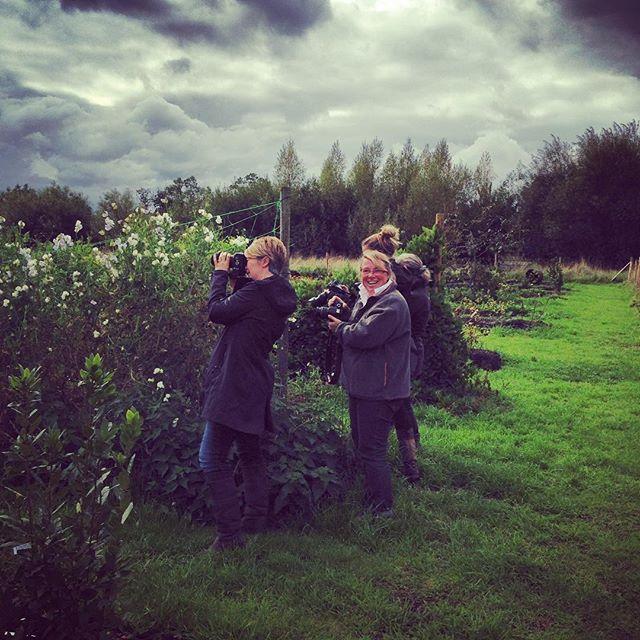 Yesterdays Garden Photography Workshop @commonfarmflowers #gardenphotography #commonfarmflowers #photographystudents