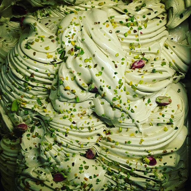 Delicious pistachio gelato at today's shoot @swoon_gelato @foodprgirl @pamlloydpr #gelato #foodphotography #swoon