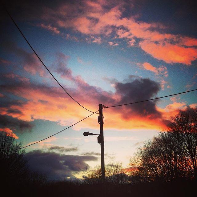 Telegraph Line #telegraphline #sunset #studioview