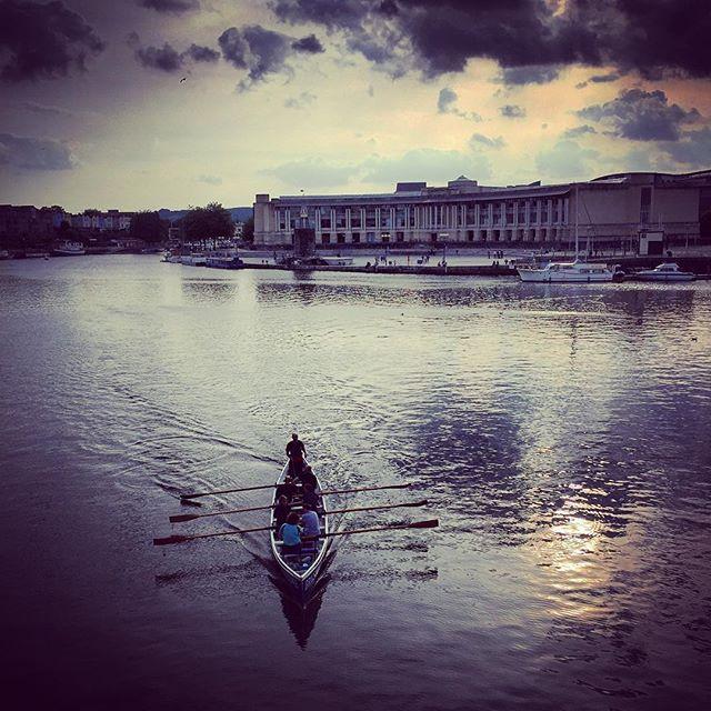 Bristol Harbour #bristol #bristolharbour #rowing