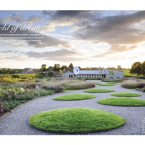 Very pleased to win Features Photographer of the Year at the Garden Media Guild Awards today. Thanks to @gardens_illustrated @hauserwirth #featuresphotographeroftheyear #gardenphotography #hauserandwirthsomerset #gardensillustrated #gmgawards2016