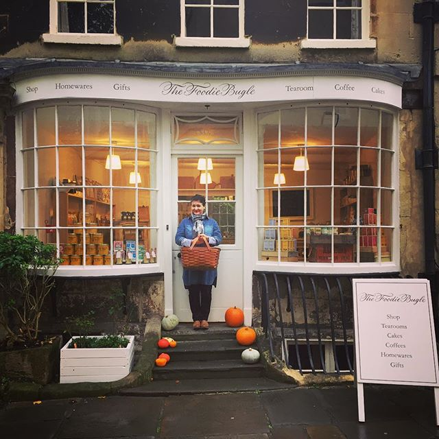 The Foodie Bugle new shop open for business and looking very beautiful @thefoodiebugle #foodiebugleshop #bath