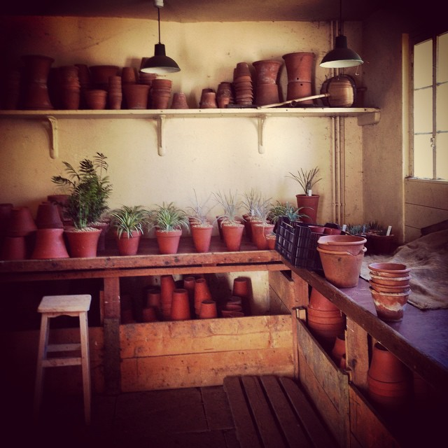 Potting Shed at Osborne House #osbornehouse #Englishheritage #Pottingshed ##gardenphotography