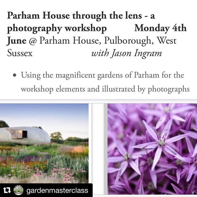 My first Garden Photography day coming up with @gardenmasterclass @parham_house_gardens #gardenphotography #gardenmasterclass in association with @gardens_illustrated