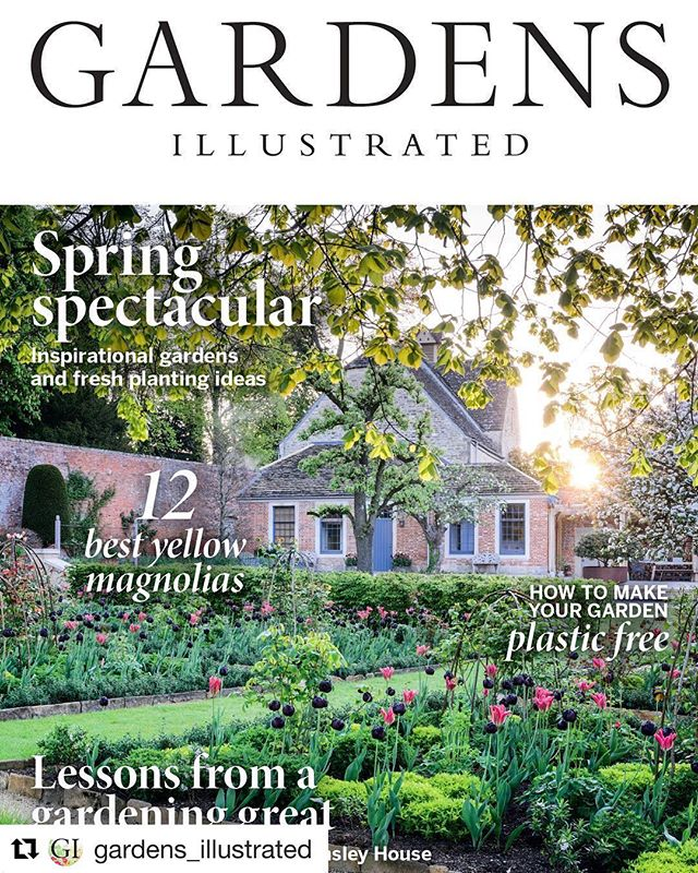 Lovely to see my shoot with @bayntunflowers @arnemaynardgardendesign on this months @gardens_illustrated cover  #gardenphotography #gardensillustratedmagazine #gardensillustrated #gardenphotographer #spring #tulips