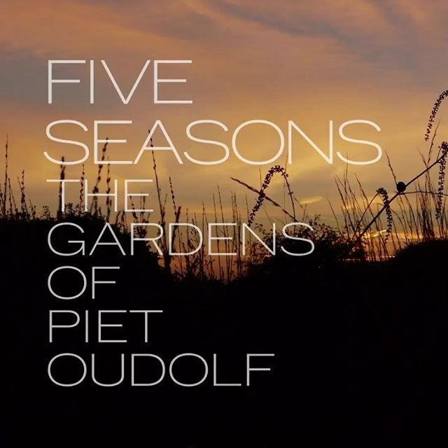Hauser & Wirth are to present the first ever digital screening of 'Five Seasons: The Gardens of Piet Oudolf' directed by Thomas Piper on Friday 24th - Sunday 26th April 2020 (starting 5am BST)  https://www.hauserwirth.com/stories/28405-five-seasons-gardens-piet-oudolf